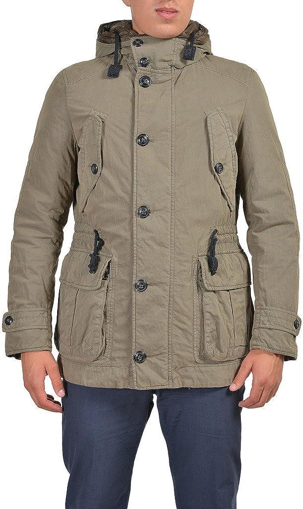 Ballantyne Beige Full Zip Hooded Insulated Parka Jacket