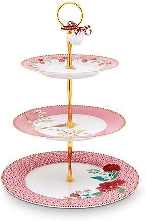 Preisvergleich für Pip Studio Etagere Floral | Pink - one size