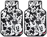 Plasticolor 001581R01 Disney Mickey Mouse Expressions Universal Fit Car Truck SUV Front Floor Mats Pair