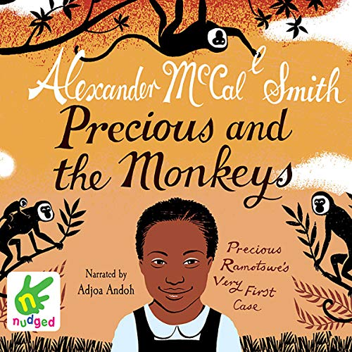 Precious and the Monkeys audiobook cover art