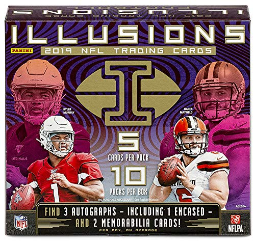 2019 Panini Illusions NFL Football HOBBY box (10 pks/bx)