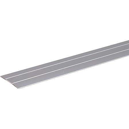 GAH Alberts 491475 Barre de seuil, autoadhésive | Aluminium, Couleur Argent, anodisée | 900 x 38 mm, Silberfarbig Eloxiert