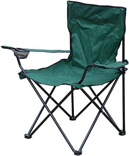 venta con alto descuento LVJING Silla Plegable para para para Pesca Camping con Portavasos Y Bolsa De Transporte el Color Puede Cambiar  mejor marca