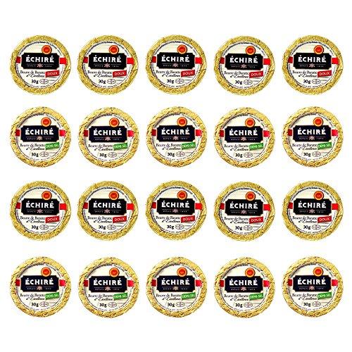 フランスAOP伝統エシレ無塩発酵バター【30gx20個】Echire AOP Charentes Poitou DOUX
