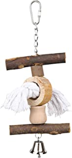 Trixie Natural Living Toy with Bell and Rope, 20 centimetre
