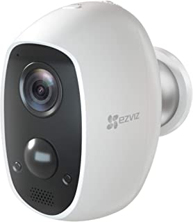 EZVIZ C3A - 100% Wire-Free 1080p Security Camera, Two-Way Audio, PIR Motion Detection, 25ft Night Vision