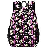 XKJFOTCY Anime Cute Backpacks Bookbag Laptop...