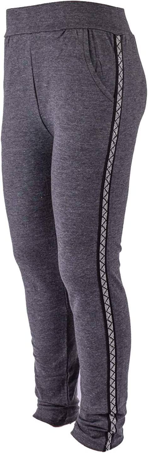 Choice New popularity Zoloto Children's Leggings with Inserts Gray Shiny