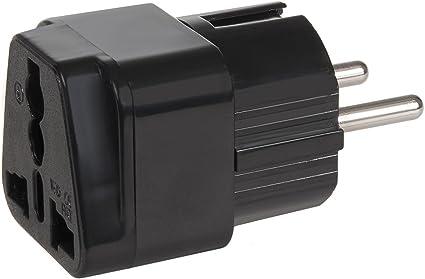 Maclean Mce155 Universal Reise Adapter Stecker Gb Elektronik