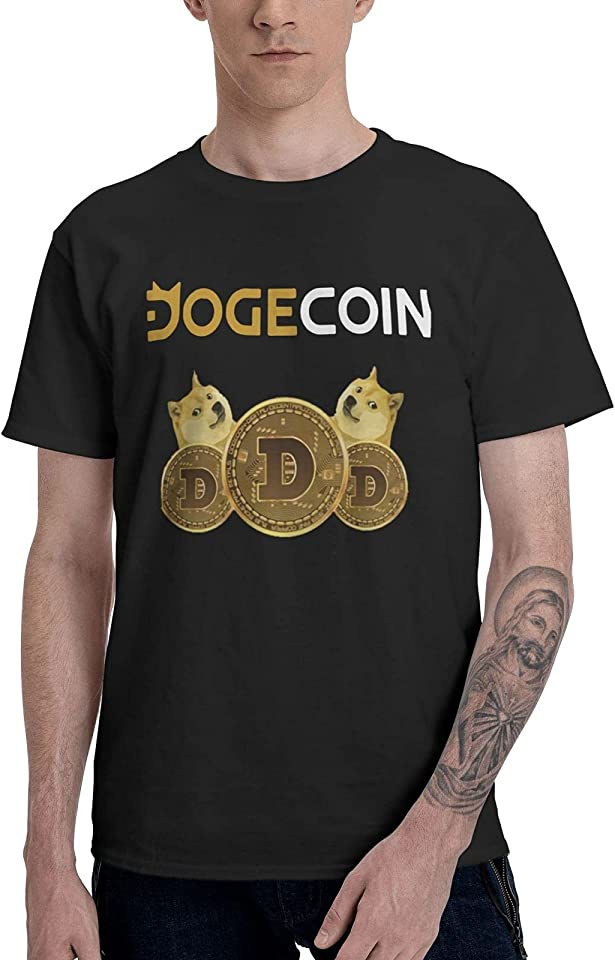 Dogecoin Doge HODL to The Moon Crypto Premium Meme T-Shirt