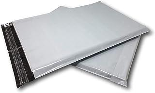 Lot de 10 Enveloppes plastique blanches opaques A3 350 x 450 mm,pochette 34x45 cm 60 microns. toutes d'expédition Envelopp...