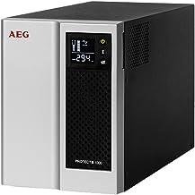 AEG Protect NAS Línea interactiva 500VA 4AC Outlet(s) Negro, Plata Sistema de alimentación ininterrumpida (UPS) - Fuente de alimentación Continua (UPS) (500 VA, 250 W, 220 V, 240 V, 220 V, 240 V)