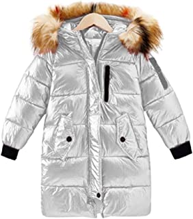 Toddler Kids Girls Boys Quilted Fur Vest Body Warmer Gilet Winter Thick Coat New