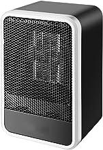 Calentador eléctrico de cerámica PTC Mini Calentador de Ventilador de Mano de Invierno Calefacción rápida Estufa Caliente Radiador de Escritorio de Oficina Ventilador de Aire Caliente UE
