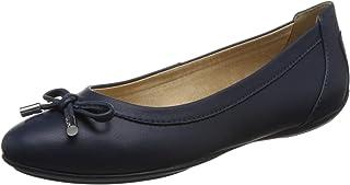 Geox Charlene D84Y7A Mujer Bailarinas,Merceditas,Bailarinas Clásicas,fémina Zapatos Planos,Bailarinas,Zapatos del Verano,Elegante,en Lazo,Ocio