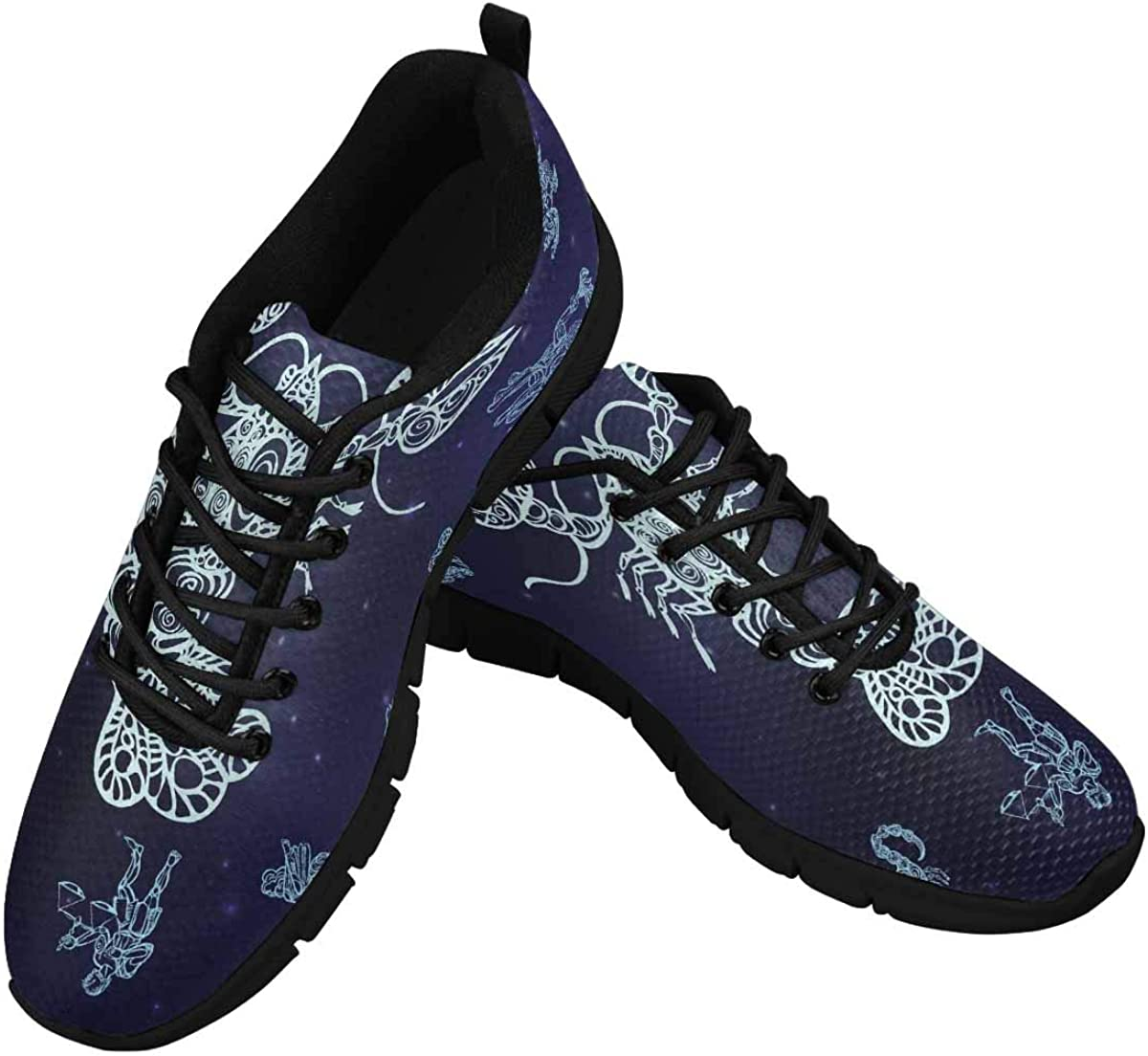 INTERESTPRINT Sign of Cancer Women's Breathable Sneaker