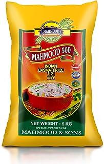Mahmood 500 Indian 1121 Basmati Rice, 5 kg