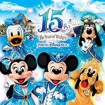 """東京ディズニーシー 15周年 """"ザ・イヤー・オブ・ウィッシュ"""" ミュージック・アルバム デラックス"""