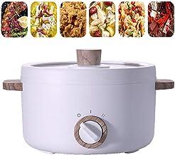 1.5L électrique poêlon électrique portatif Frying Pan Mini électrique Wok Casseroles Petit électrique antiadhésifs Hot Pot...