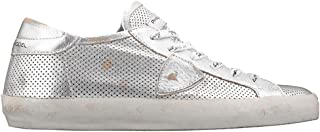 Philippe Model Luxury Fashion Womens CLLDME01 Silver Sneakers |