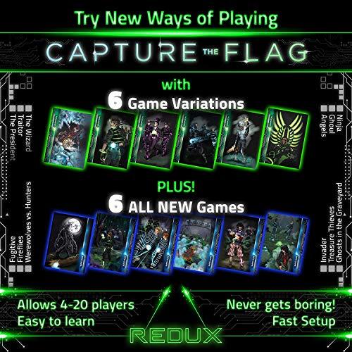 Capture the Flag REDUX : le jeu d'extérieur original qui brille dans le noir, parfait pour les...
