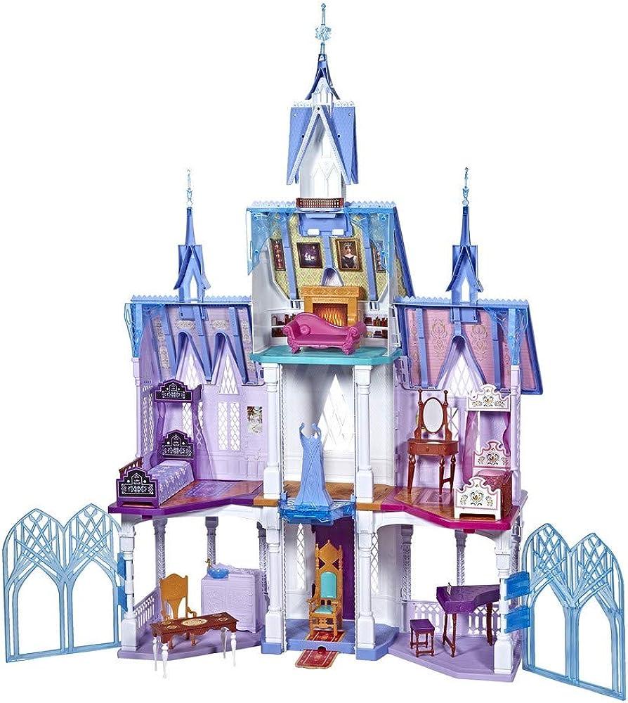 Hasbro disney frozen castello di arendelle deluxe con luci con 7 stanze e tanti accessori E5495EU5