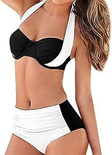 Women's Swimwear Sexy High Waist Pad Push-up Bikini Set Two-Piece Beachwear Swimsuit