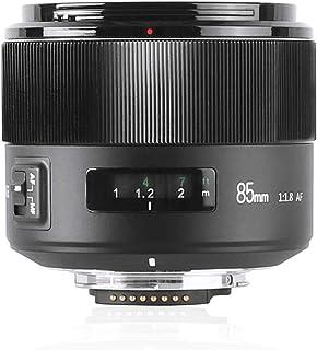 MEKE 85mm f1.8 Large Aperture Full Frame Auto Focus Telephoto Lens for Nikon F Mount DSLR Camera Compatible with APS C Bod...