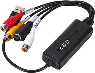 Generic de Áudio E vídeo VHS USB placa de Captura de Vídeo para Conversor de DVD, placa de Captura de Adaptador, para Wind...