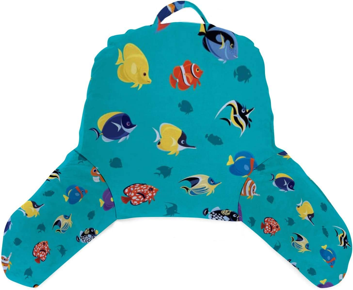 IEINTABRWNER Soft Reading Pillow Very popular! with High order and Tropical Pockets Arms