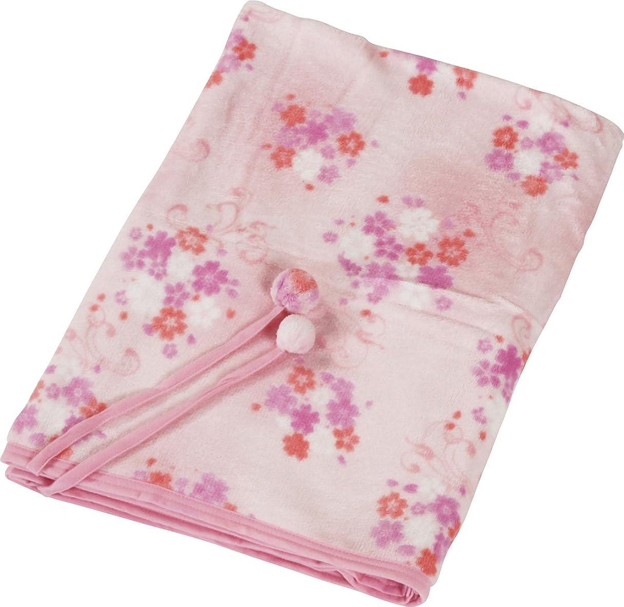 味わう中触覚Haruka?Style(ハルカ?スタイル) マイクロファイバー3WAYケット 桜柄 100×150cm ピンク