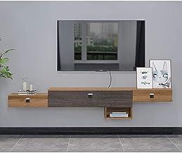 Drijvende plank Wandgemonteerde tv-kast Multifunctionele wandkast Audio Video Console Drijvende TV Plank TV Stand Media Co...
