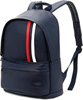 KINGSLONG Laptop Backpack for Men and Women, 15.6 Inch Slim College Backpack Ultra-Light and Compact School Shoulder Bag for Casual Daypack Travelling light blue KLB1310newus