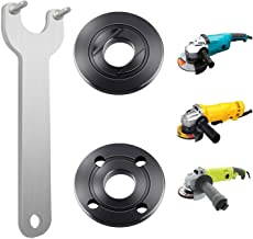 Podoy Grinder Flange Angle Wrench Spanner Metal Lock Nut for Compatible with Dewalt Milwaukee Makita 193465-4 Bosch Black & Decker Ryobi 4.5