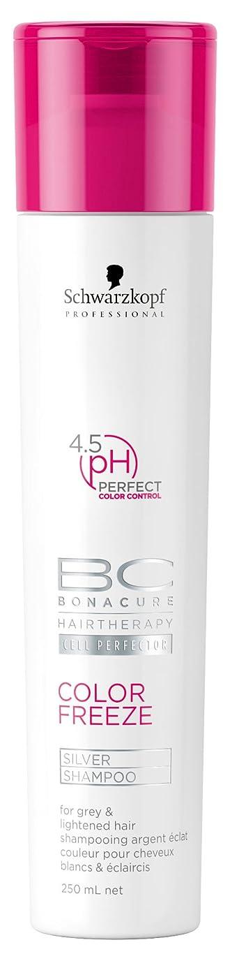 手書きアジテーション有罪シュワルツコフ BC カラーフリーズ pH 4.5 シルバーシャンプー (グレイ&明るい髪色用) 250ml/8.4oz並行輸入品