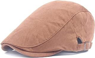 2019 Womens Hats Caps Womens 2019 Beret Cap Autumn Cotton Ladies Solid Color Forward Cap for Women Men's College Wind Simple Forward Cap Painter Hat Lightweight Fashion Soft