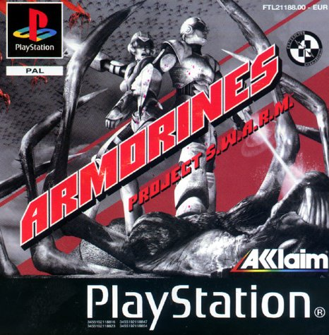 Playstation 1 - Armorines: Project S.W.A.R.M.