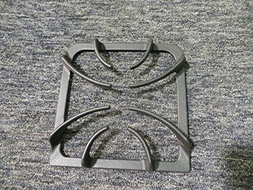 316202405 Range Surface Burner Grate Genuine Original Equipment Manufacturer (OEM) Part Black