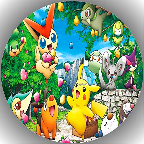 Fondant Tortenaufleger Tortenbild Geburtstag Pokemon T6