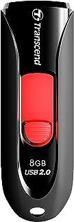Transcend Jetflash 590 USB Flash Drive, 8 GB, Black (TS8GJF590K)