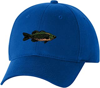 Smallmouth Bass Custom Personalized Embroidery Embroidered Hat Baseball Cap