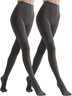 Women's Winter Leggings Warm Opaque Tights, Stretchy Cotton Tights 140 Denier