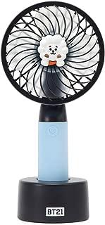 LINE FRIENDS BT21 Official Merchandise RJ Character Mini Handheld Personal Portable Fan