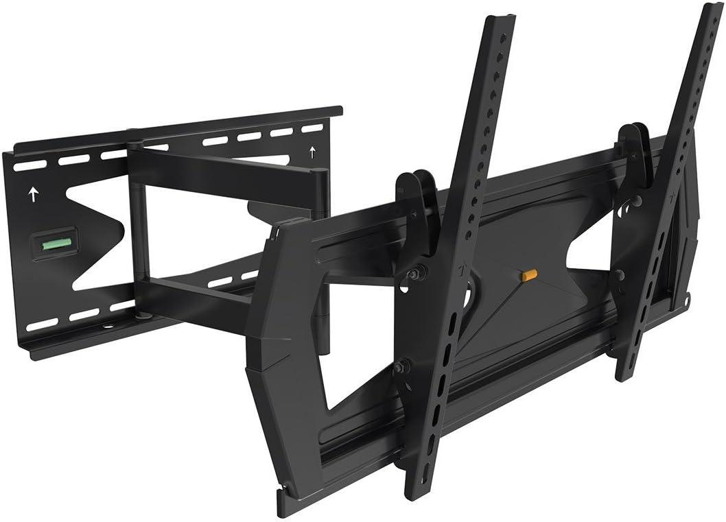 Black Full-Motion Tilt Swivel Wall Mount Max 41% OFF with Bracket Anti-Theft New York Mall