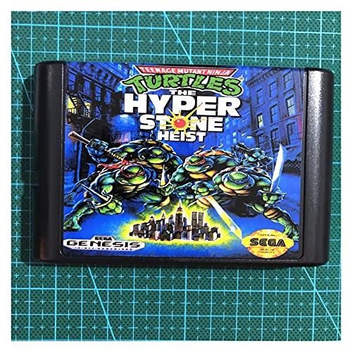 Banyan tree Qinqin Turtles Der Hyperstone-Heist fit für Sega Mega Drive 16 Bit MD. Spielkarte Fit für Sega Mega Drive für Genesis ZSQ