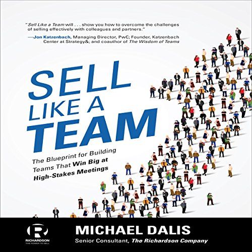 Sell Like a Team audiobook cover art
