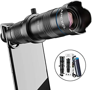 20X 40X Professional Universal Zoom Lens Teliscope Telephoto Zoom Lens for Phone Camera