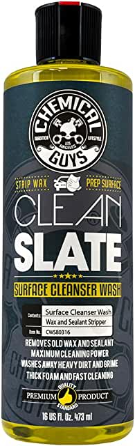 Bottle of Clean Slate product.