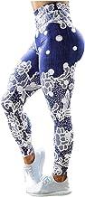 DEATU Women`s Butt Lifting Yoga Leggings Pants 3D Print High Waisted Sport Workout Training Pants Scrunch Butt Leggings