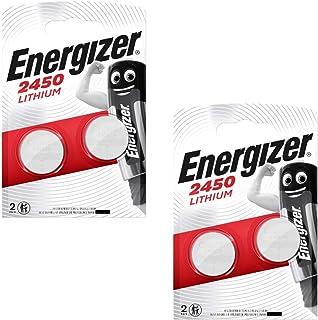 Energizer 2450 CR2450 Premium Lithium 2 x set van 2 (4 stuks batterijen)